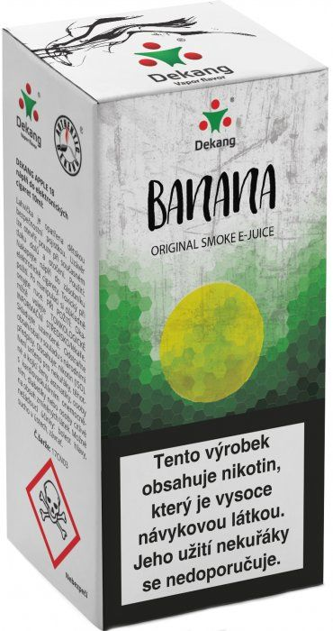 Liquid Dekang Banana 10ml - 11mg (Banán)