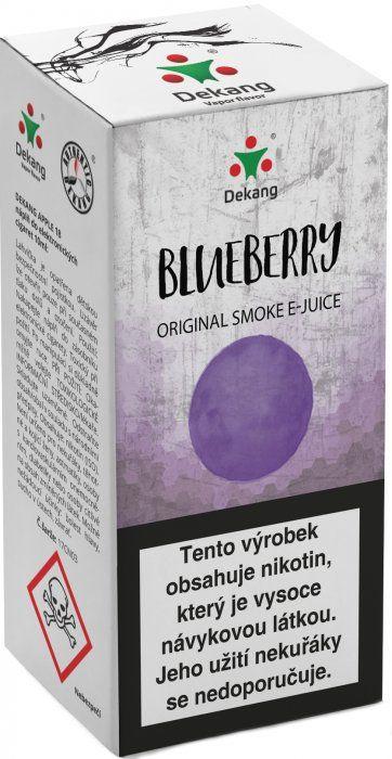 Liquid Dekang Blueberry 10ml - 16mg (Borůvka)