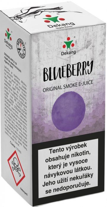 Liquid Dekang Blueberry 10ml - 18mg (Borůvka)