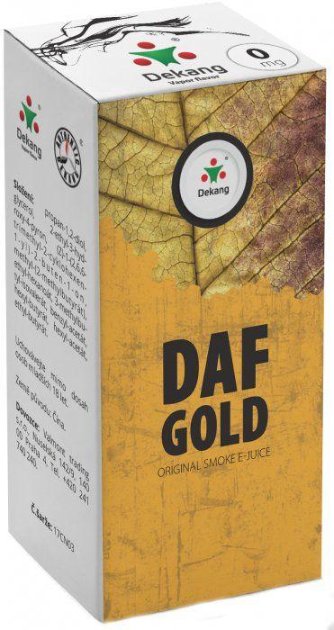 Liquid Dekang DAF Gold 10ml - 0mg