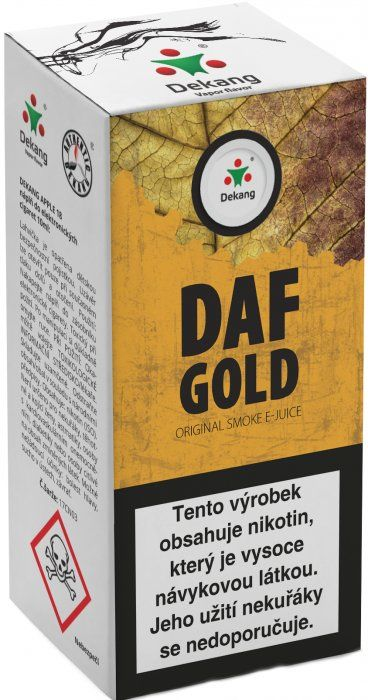 Liquid Dekang DAF Gold 10ml - 11mg