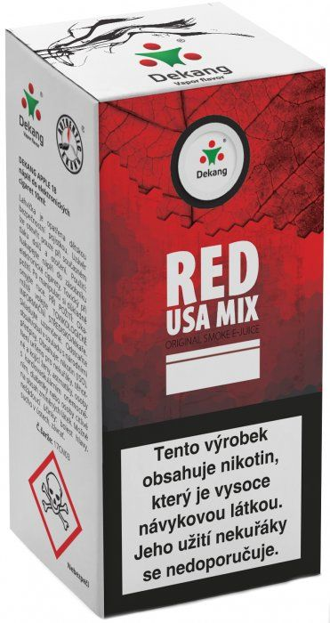 Liquid Dekang Red USA MIX 10ml - 11mg