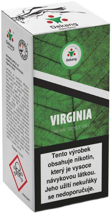Liquid Dekang Virginia 10ml - 11mg (virginia tabák)