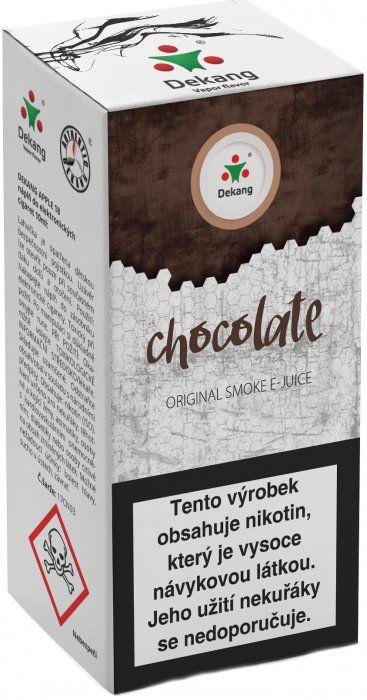 Liquid Dekang Chocolate 10ml-18mg (Čokoláda)