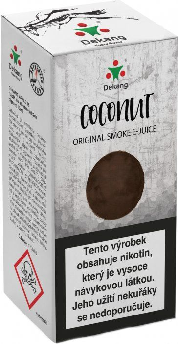 Liquid Dekang Coconut 10ml - 11mg (Kokos)