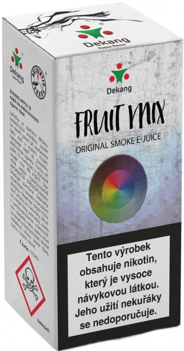 Liquid Dekang Fruit Mix (Ovocný mix) 10ml - 11mg