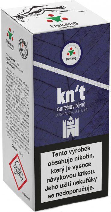 Liquid Dekang Kn´t - cantebury blend 10ml - 16mg