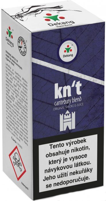 Liquid Dekang Kn´t - cantebury blend 10ml - 18mg