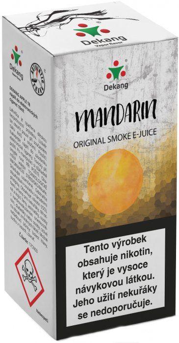 Liquid Dekang Mandarin 10ml - 11mg (mandarinka)