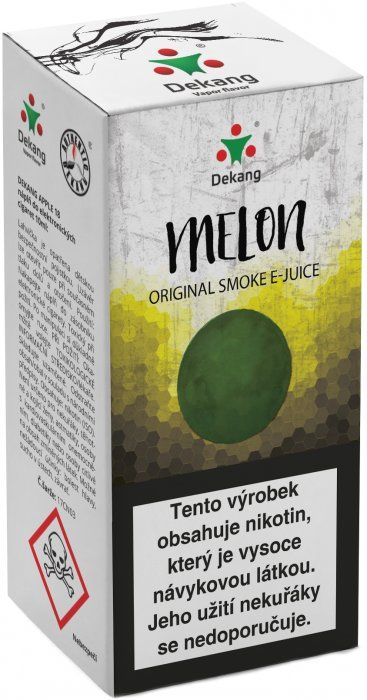 Liquid Dekang Melon 10ml-11mg (Žlutý meloun)