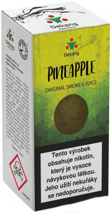 Liquid Dekang Pineapple (Ananas) 10ml - 6mg