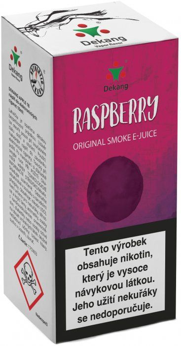 Liquid Dekang Raspberry 10ml - 18mg (Malina)