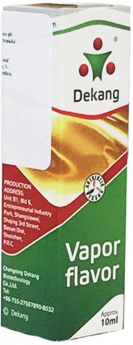 Liquid Dekang SILVER Melon 10ml - 0mg (Žlutý meloun)