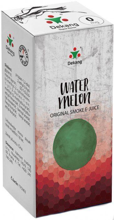 Liquid Dekang Watermelon 10ml-0mg (Vodní meloun)