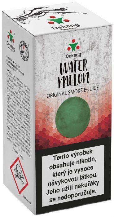 Liquid Dekang Watermelon 10ml-6mg (Vodní meloun)