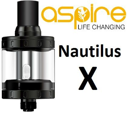 aSpire Nautilus X clearomizer 2ml Black