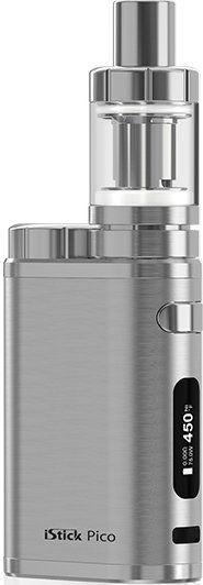 iSmoka-Eleaf iStick Pico TC 75W full Grip Brushed Silver