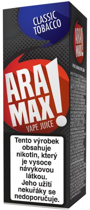Liquid ARAMAX Classic Tobacco 10ml-12mg