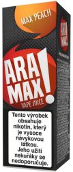 Liquid ARAMAX Max Peach 10ml-18mg