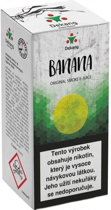 Liquid Dekang Banana 10ml - 3mg (banán)