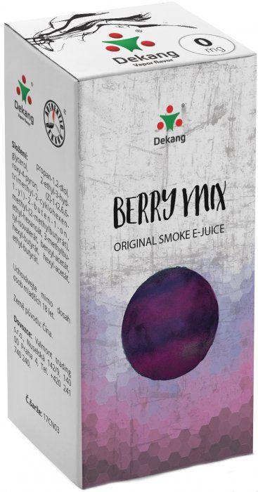 Liquid Dekang Berry Mix 10ml - 0mg (Lesní Plody)
