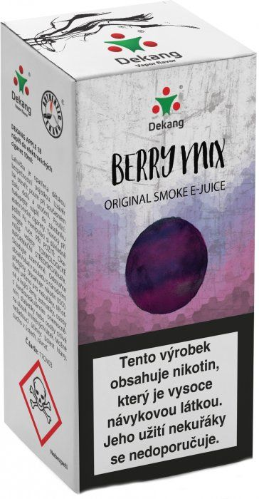 Liquid Dekang Berry Mix 10ml - 16mg (Lesní Plody)