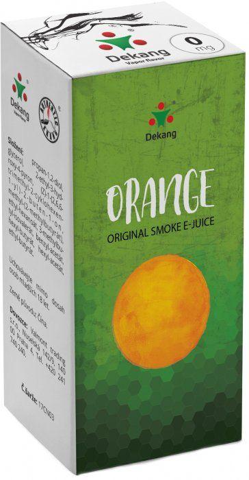 Liquid Dekang Orange 10ml - 0mg (Pomeranč)