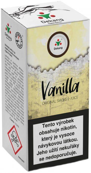 Liquid Dekang Vanilla 10ml - 3mg (Vanilka)