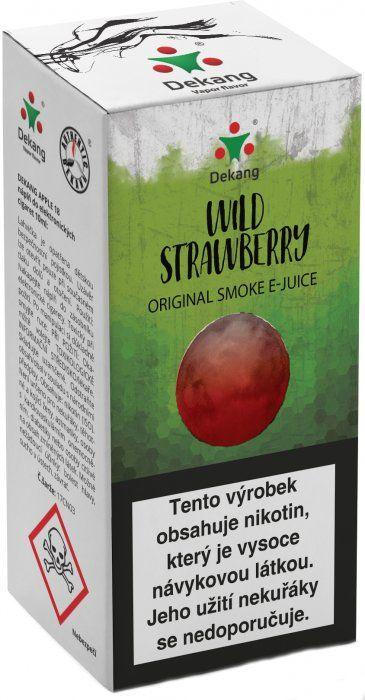 Liquid Dekang Wild Strawberry 10ml - 6mg (Lesní jahoda)