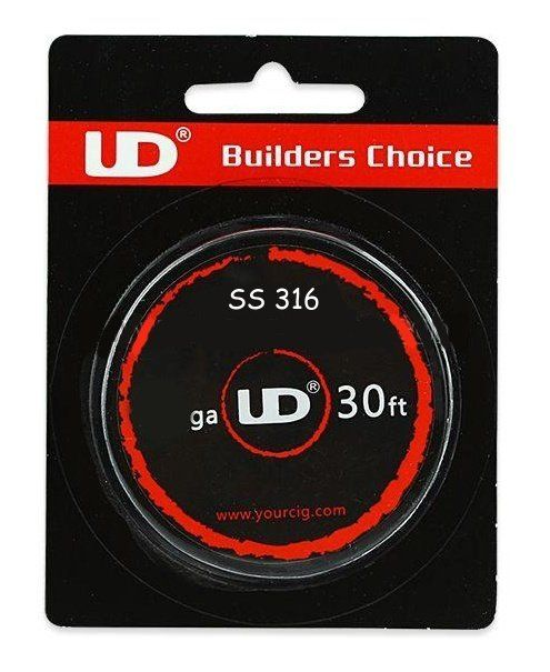 UD SS316 odporový drát 28GA 0,3mm 9m