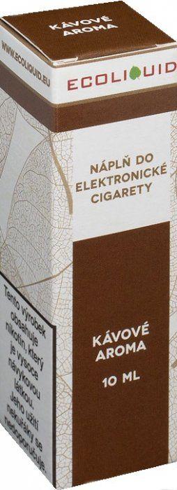 Liquid Ecoliquid Coffee 10ml - 12mg (Káva)