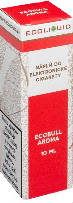 Liquid Ecoliquid Ecobull 10ml - 6mg (Energetický nápoj)