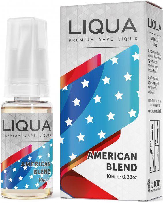 Liquid LIQUA CZ Elements American Blend 10ml-0mg (Americký míchaný tabák) Ritchy-Liqua