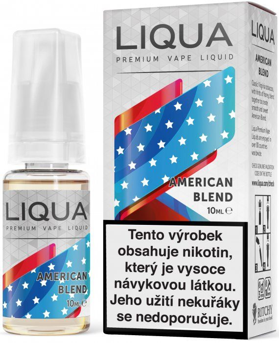 Liquid LIQUA CZ Elements American Blend 10ml-18mg (Americký míchaný tabák) Ritchy-Liqua