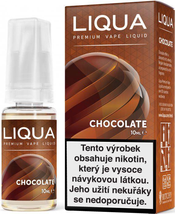 Liquid LIQUA CZ Elements Chocolate 10ml-12mg (čokoláda)