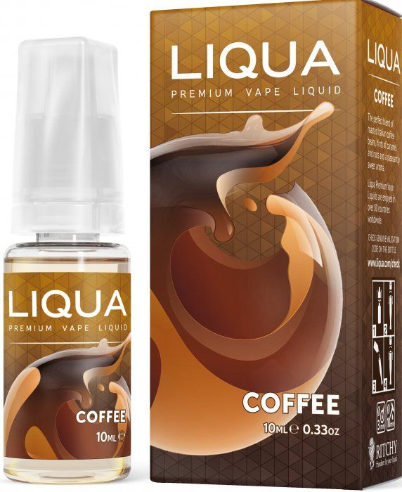 Liquid LIQUA CZ Elements Coffee 10ml-0mg (Káva)