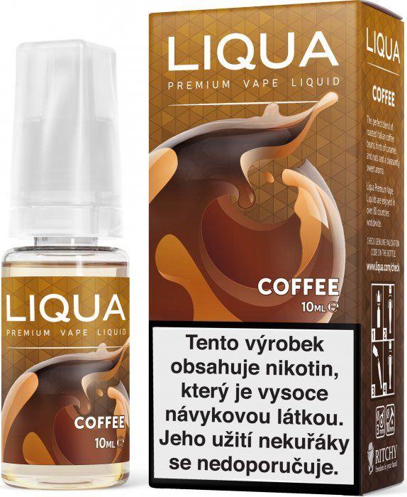 Liquid LIQUA CZ Elements Coffee 10ml-3mg (Káva)