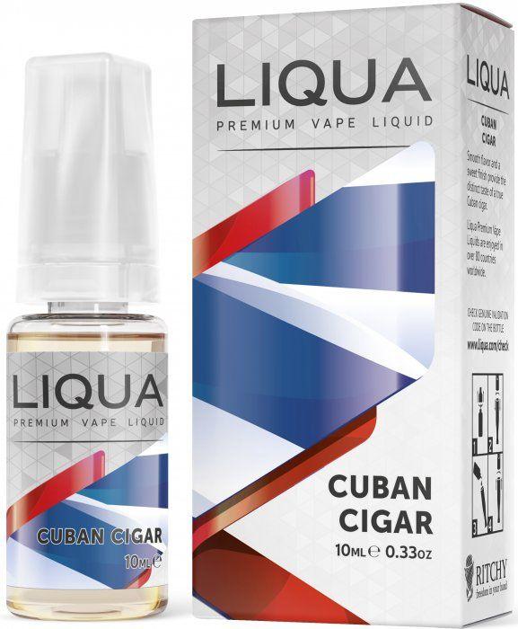 Liquid LIQUA CZ Elements Cuban Tobacco 10ml-0mg (Kubánský doutník)