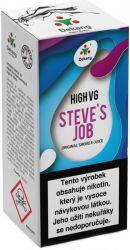 Liquid Dekang High VG Steve´s Job 10ml - 6mg (Sladké a kyselé jablko)