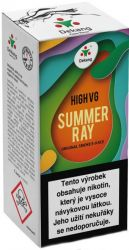 Liquid Dekang High VG Summer Ray 10ml - 6mg (Ovocná směs)