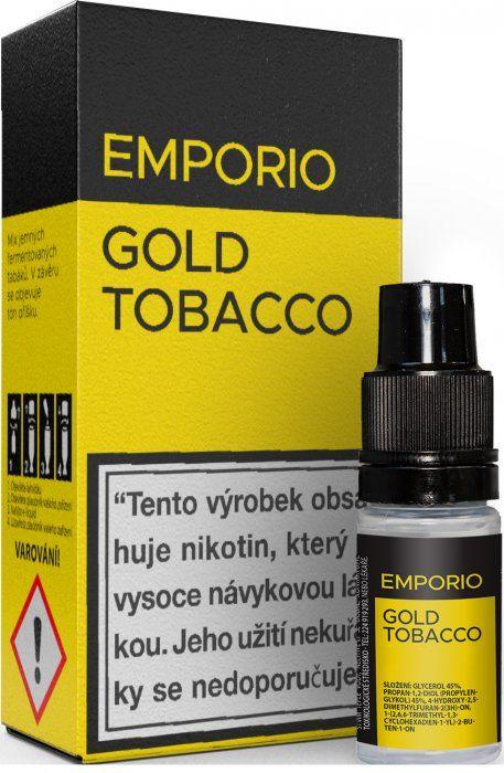Liquid EMPORIO Gold Tobacco 10ml - 3mg