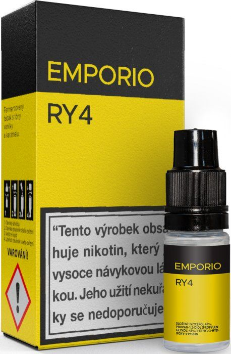 Liquid EMPORIO RY4 10ml - 6mg