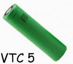Sony VTC5 baterie typ 18650 2600mAh 30A