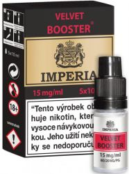 Velvet  Booster CZ IMPERIA 5x10ml PG20-VG80 15mg