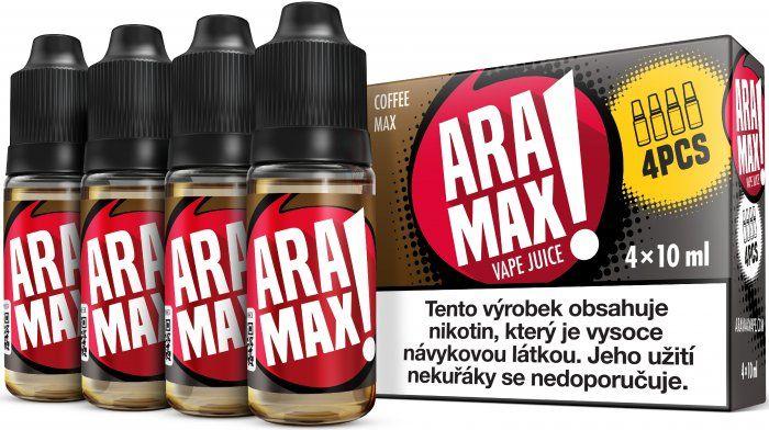 Liquid ARAMAX 4Pack Coffee Max 4x10ml-3mg