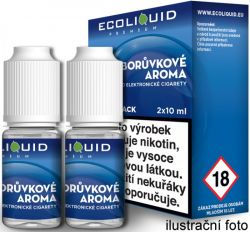 Liquid Ecoliquid Premium 2Pack Blueberry 2x10ml - 20mg (Borůvka)
