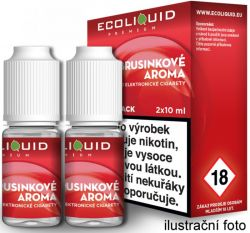 Liquid Ecoliquid Premium 2Pack Cranberry 2x10ml - 0mg (Brusinka)