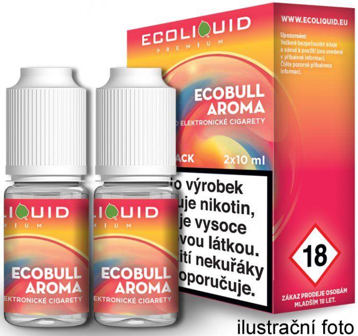 Liquid Ecoliquid Premium 2Pack Ecobull 2x10ml - 0mg (Energetický nápoj)