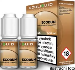 Liquid Ecoliquid Premium 2Pack ECODUN 2x10ml - 18mg