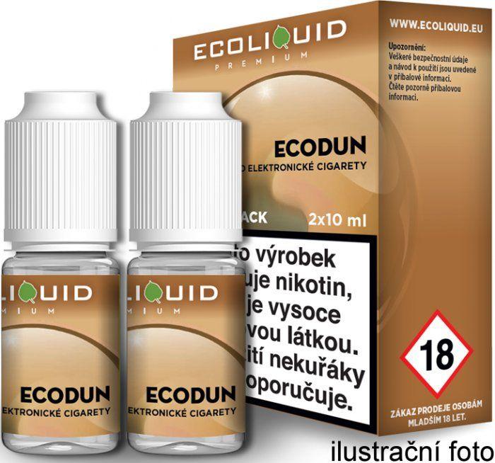 Liquid Ecoliquid Premium 2Pack ECODUN 2x10ml - 6mg